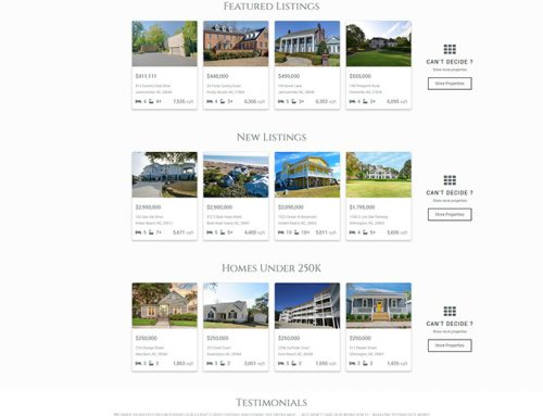 New IDX Real Estate Website for Jeff Domin Group