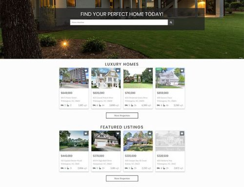 New Real Estate Web Design for Team Gale!