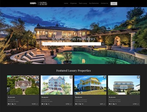 New Real Estate Web Design For NC!