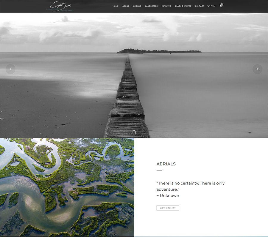 Photographer Web Design