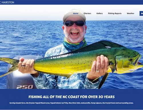 Charter Fishing Web Design!