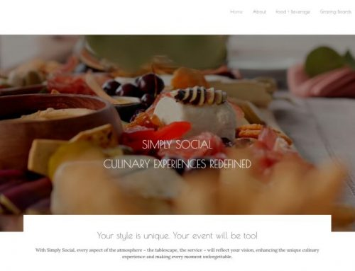 New Website Design for Simply Social!