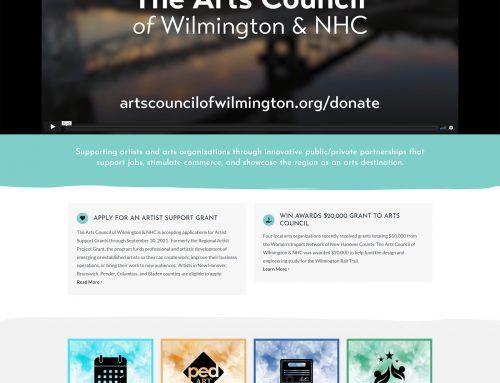 Web Design Wilmington – The Arts Council of Wilmington