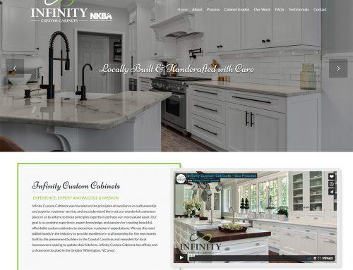 New Website Design Wilmington NC!